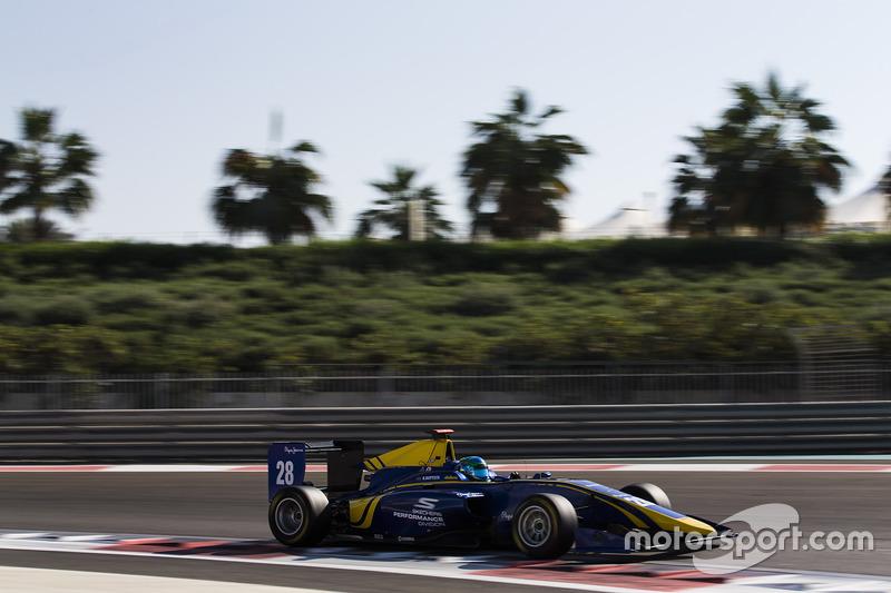 Kasım 2016'da ilk defa GP3 arabası kullanıp, Yas Marina'yı da keşfeden Brezilyalı pilotu 2017 sezonunda sarı-lacivert DAMS ile bol bol göreceğiz. Dikkatli gözler Sketchers'ı farkedecektir yine.